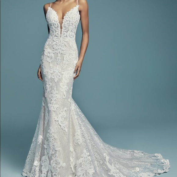 newest collection 9ef2d b0fa4 maggie sottero tuscany lynette sz 8